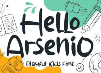 Hello Arsenio Font