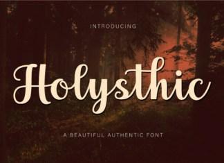 Holysthic Font