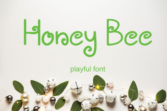 Honey Bee Font