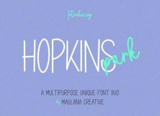 Hopkins Park Font