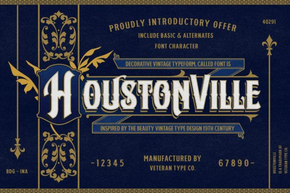 Houstonville Font