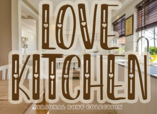 Love Kitchen Font