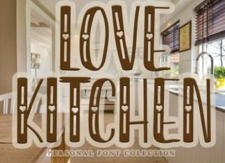 Love Kitchen Font