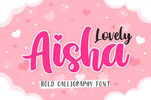 Lovely Aisha Font