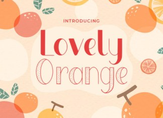 Lovely Orange Font