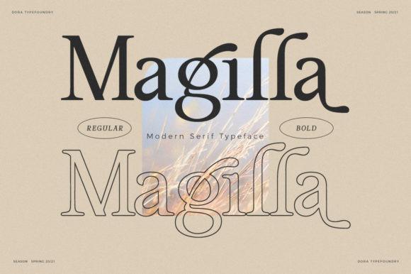 Magilla Font