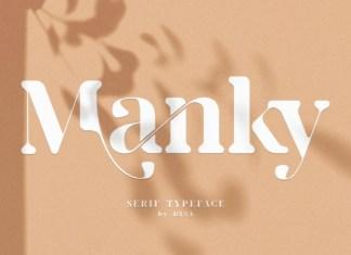 Manky Font