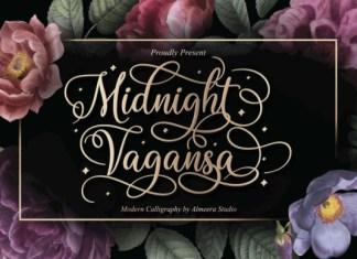 Midnight Vagansa Font