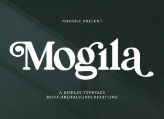 Mogila Font