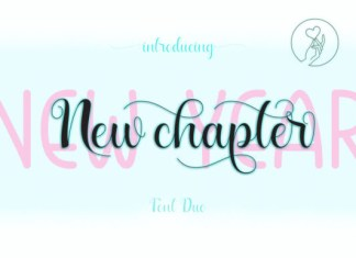 New Year New Chapter Font