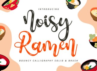 Noisy Ramen Font