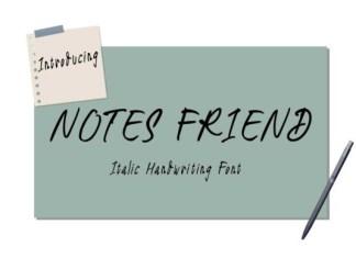 Notes Friend Font