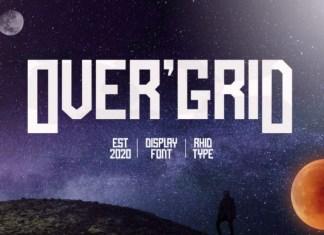 Over'Grid Font