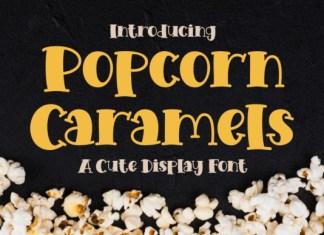 Popcorn Caramels Font