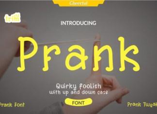 Prank Font