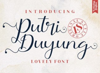 Putri Duyung Font
