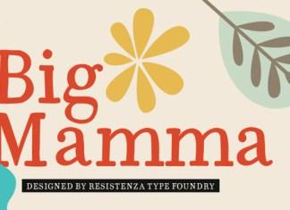 Big Mamma Font