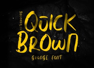 Quick Brown Font