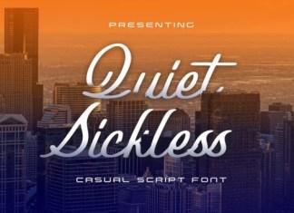Quiet Sickless Font