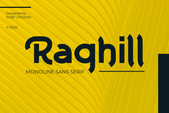 Raghill Font