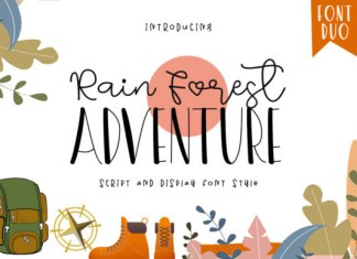 Rain Forest Adventure Font