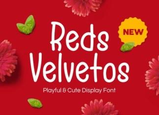 Reds Velvetos Font