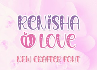 Renisha in Love Font
