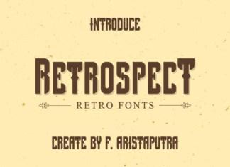 Retrospect Font