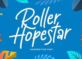 Roller Hopestar Font
