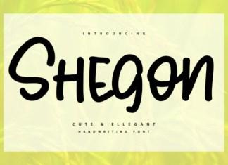 Shegoon Font