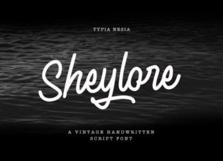 Sheylore Font