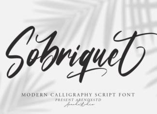 Sobriquet Font