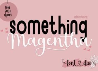 Something Magentha Font