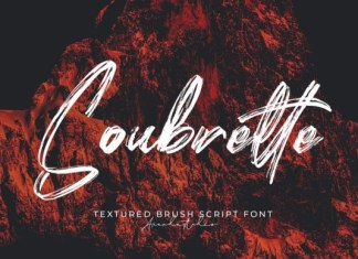 Soubrette Font