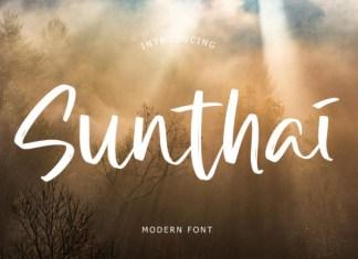 Sunthai Font