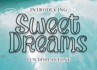 Sweet Dreams Font