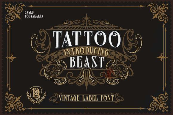 Tattoo Beast Font