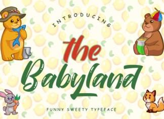 The Babyland Font
