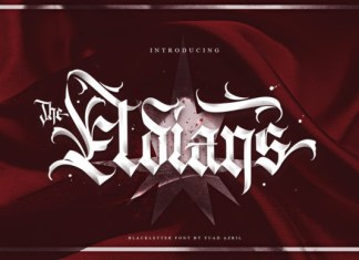 The Eldians Font