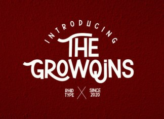 The Growqins Font