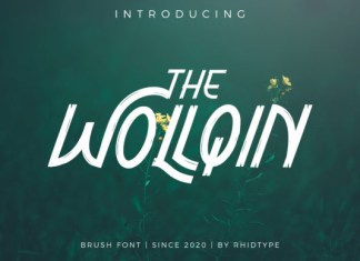 The Wollqin Font