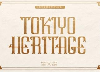 Tokiyo Heritage Font