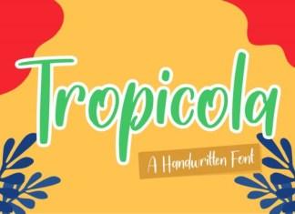 Tropicola Font