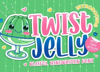 Twist Jelly Font