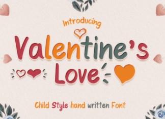 Valentine's Love Font