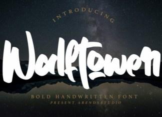 Walftower Font