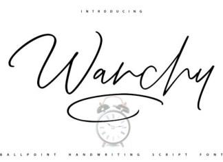 Wanchy Font