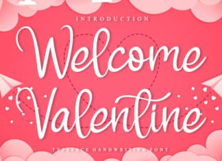 Welcome Valentine Font