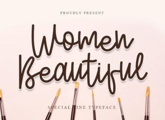 Women Beautiful Font