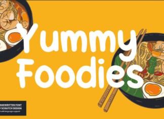 Yummy Foodies Font